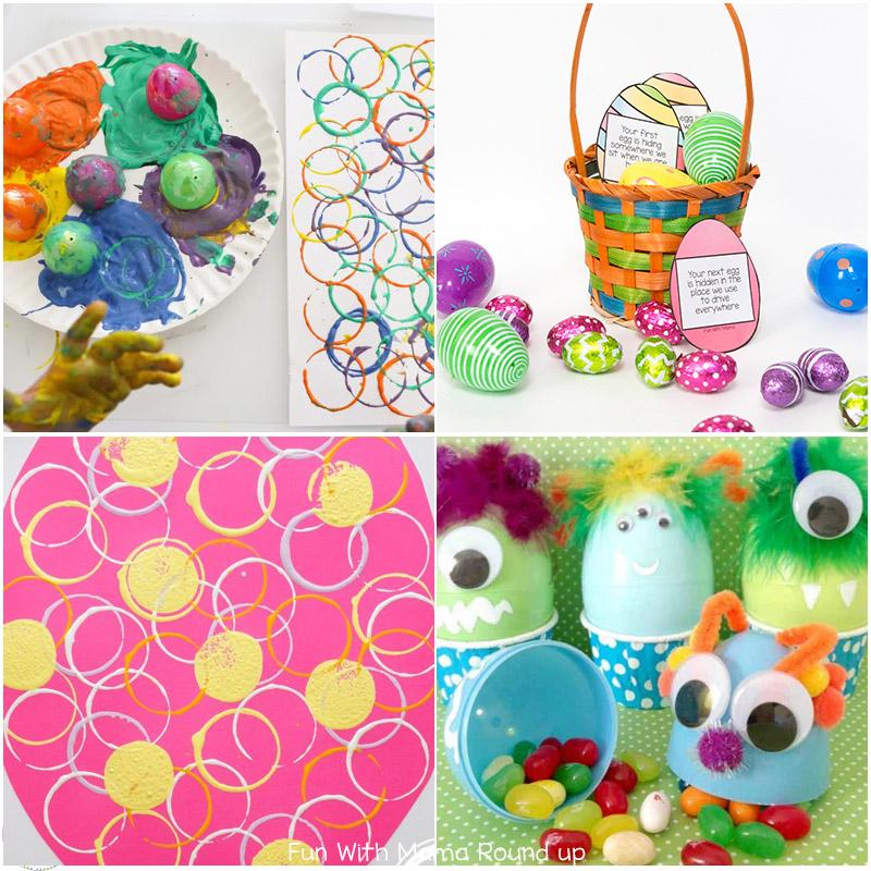 20 Fun Plastic Easter Eggs Crafts Fun With Mama