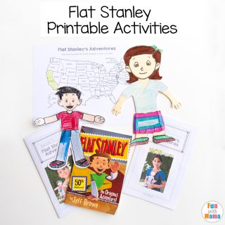 Flat Stella + Flat Stanley Printable Activities