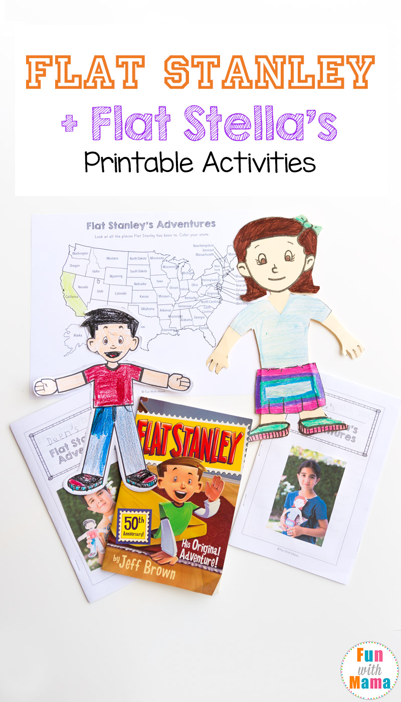 flat stanley printable activities flat stella