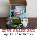 Kiwi Crate April 2017 Review + Promo – Color and Light