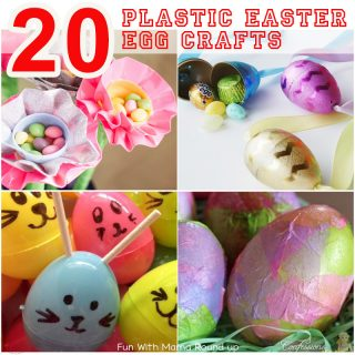 20 Fun Plastic Easter Eggs Crafts