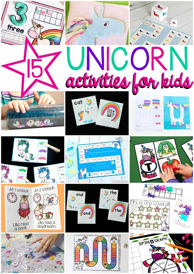 Printable letter u craft unicorn fun with mama for Unicorn crafts for kids