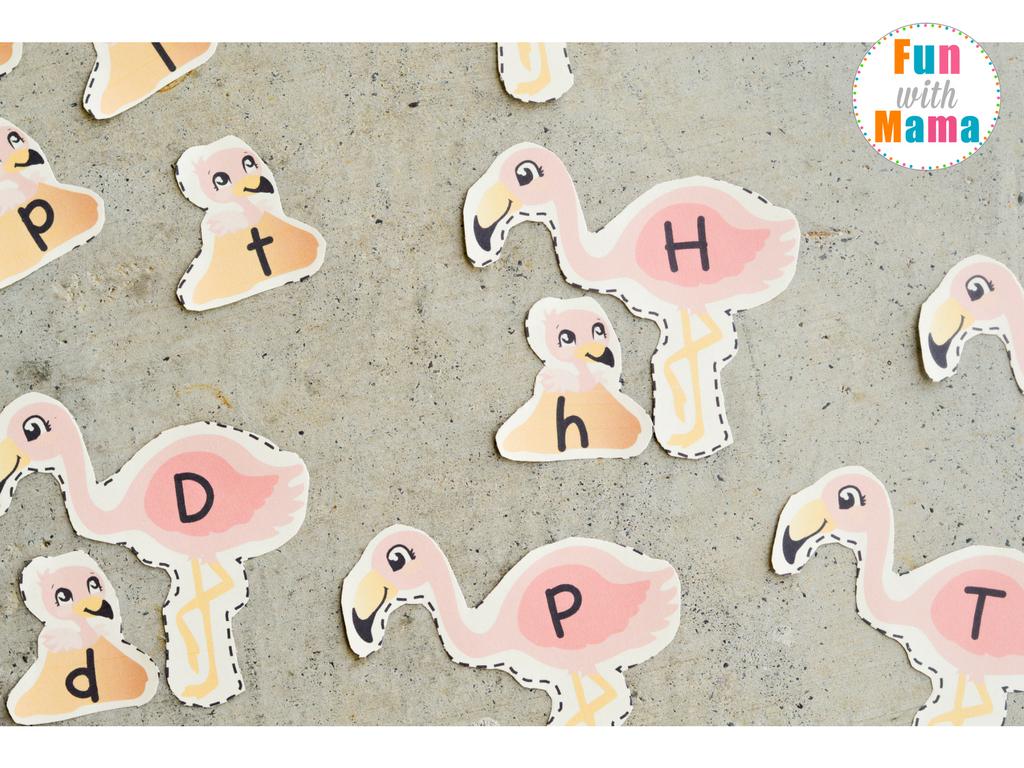 alphabet letter matching