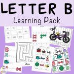 Letter B Preschool Printable Pack