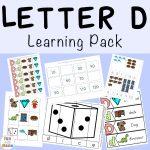 Letter D Worksheets + Activities