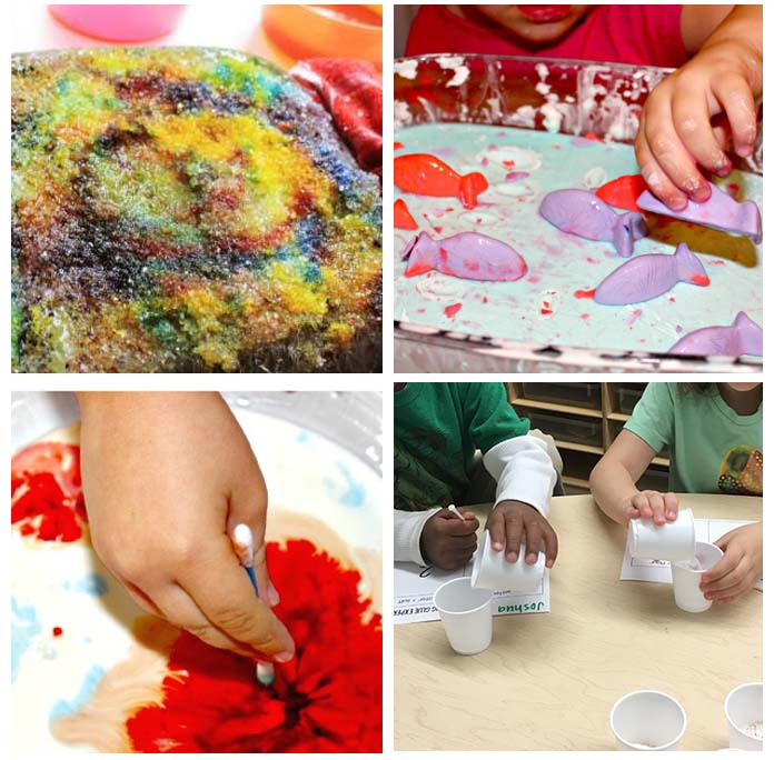 science experiments for preschoolers