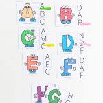 Alphabet Letter Matching Clip Cards