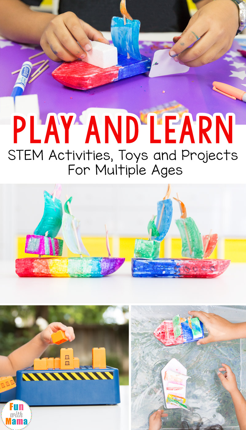 Play and Learn - STEM Activities + Toys for Multiple Ages ...