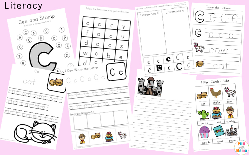 letter c activities for kindergarten
