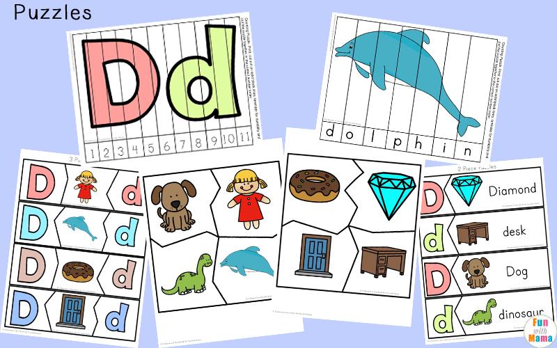 letter d words