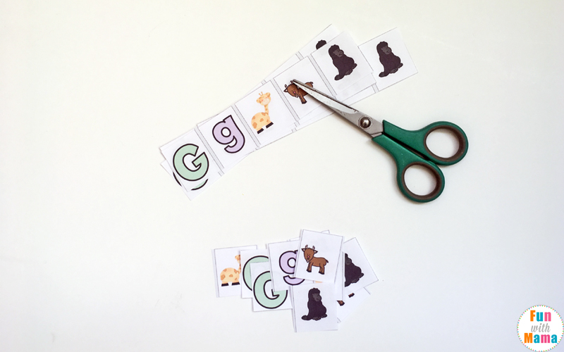 Free printable letter g activities, worksheets, crafts and learning pack.