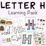 Free printable letter h activities, worksheets, crafts and learning pack.
