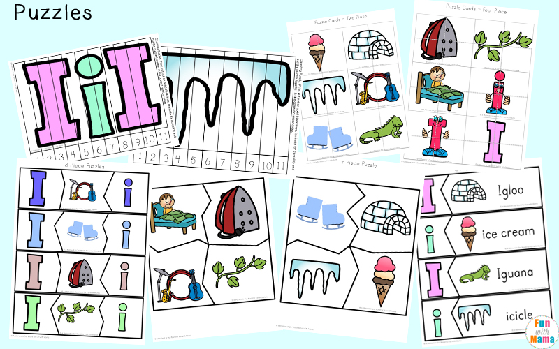 letter i activities for toddler