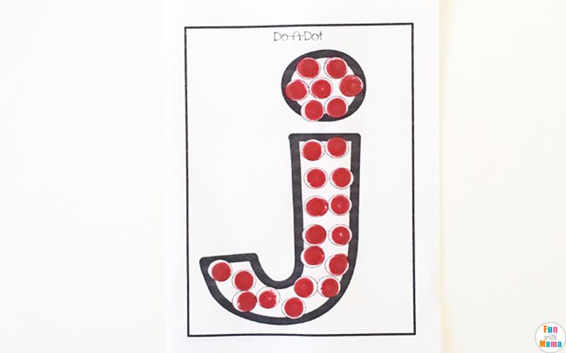 letter j art