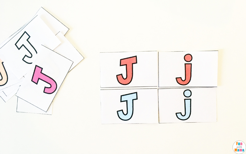 letter j activities for toddler