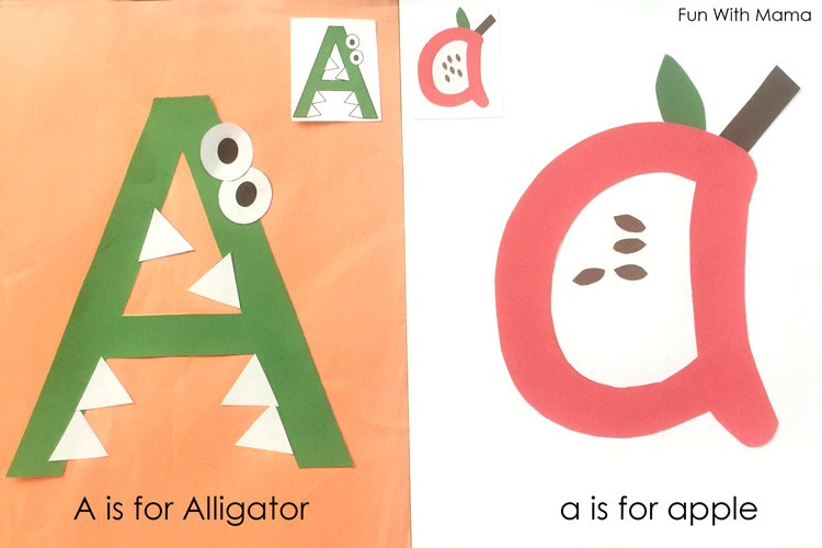 letter a preschool printable pack fun with mama