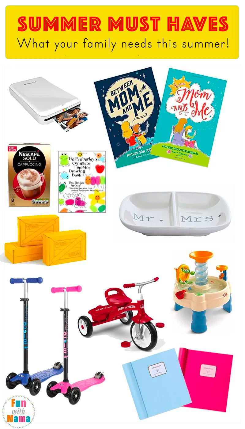 Summer Must Haves: Summer Must Have's For Kids And Families