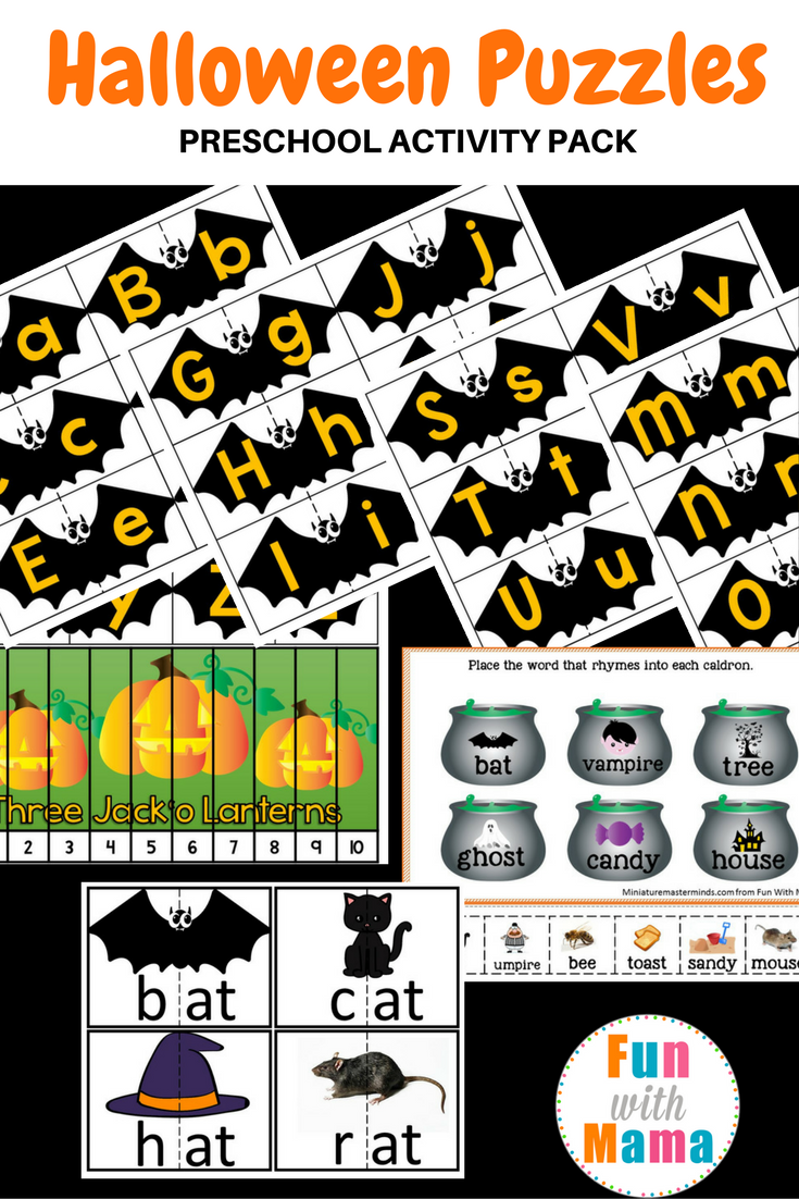 print and some halloween printable activities for preschoolers and kindergarten students too besides working on alphabet letter matching bat wings - Halloween Activities To Print