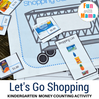 Grocery Shopping Money Counting Activity