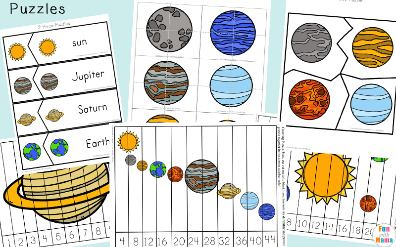 counting coconuts printable solar system - photo #16