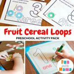 Fruit Loops Activities for Preschool Printable