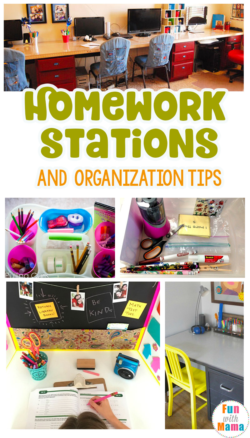 10 Steps to Foster Organization: Homework and Beyond!