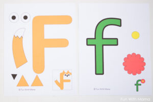 letter f crafts Fun with Mama