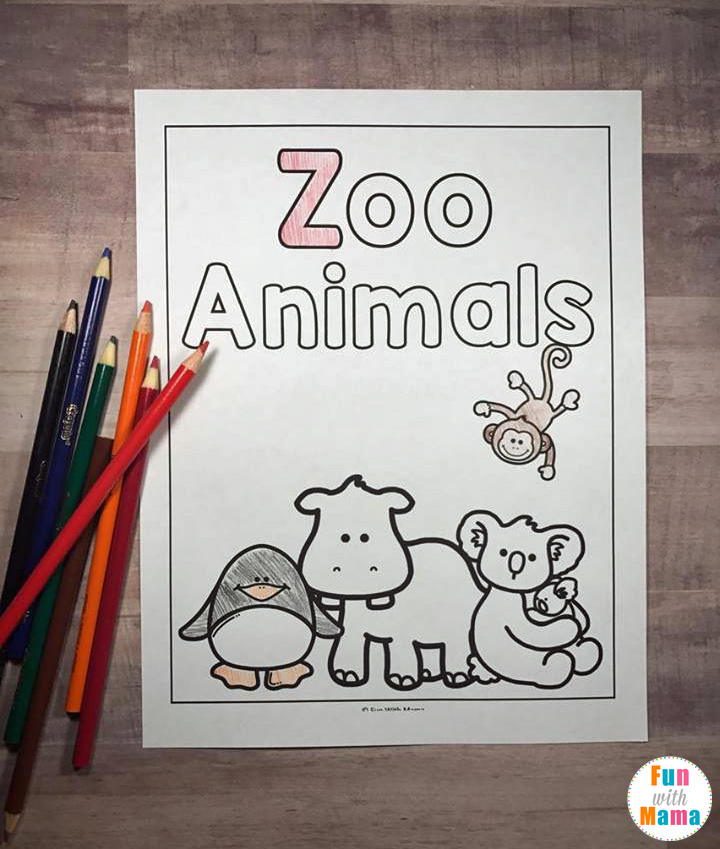 Zoo Animal Finish The Pattern Printable Inspired By Good Night Gorilla