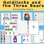 Goldilocks And The Three Bears Printable Pack