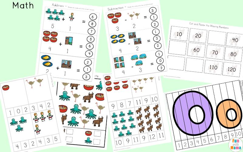 letter o preschool activities
