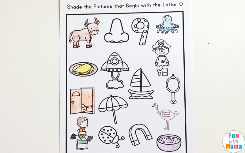 Letter O Worksheets And Activities Pack Fun With Mama. Letter O Coloring Pages. Worksheet. Letter O Worksheets At Mspartners.co
