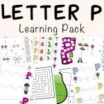 Letter P Worksheets + Printables