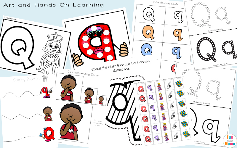 Hands On Learning Activities For Kids Letter Q