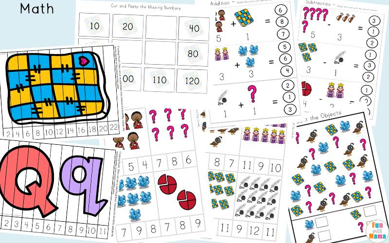 Letter Q Printable Games For Kids