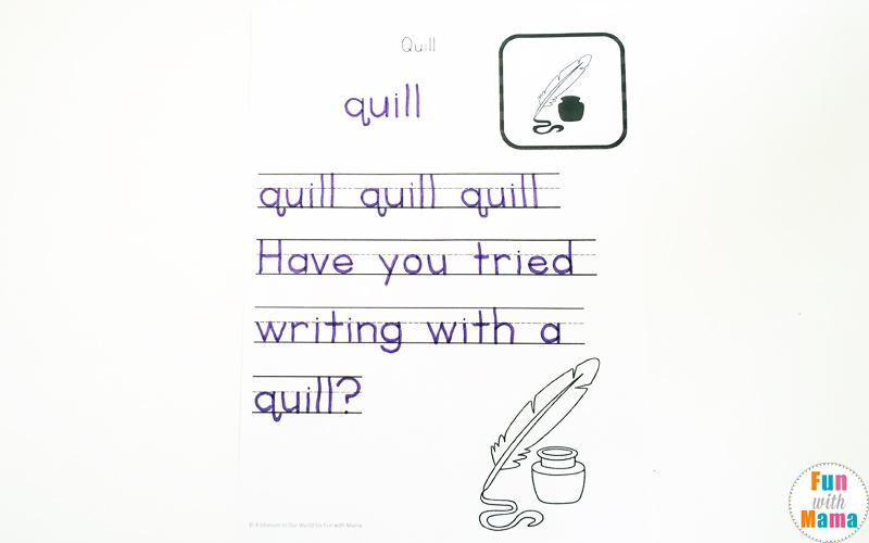 Handwriting Practice For Kids - Free Printables