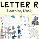 Letter R Worksheets and Printable Preschool Activities Pack