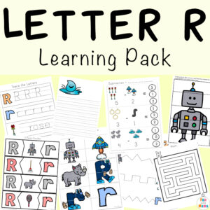 Letter R Worksheets And Printable Preschool Activities Pack