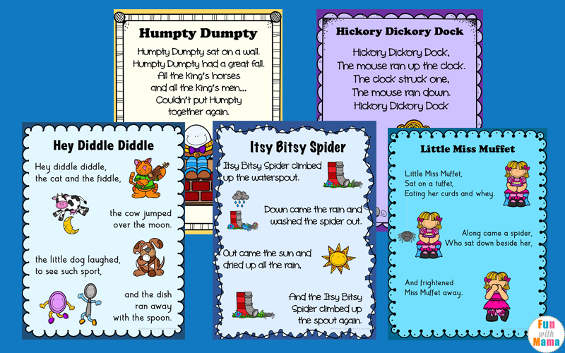 Nursery Rhymes Pdf