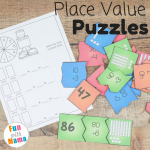 Fun Place Value Printable Puzzles and Games
