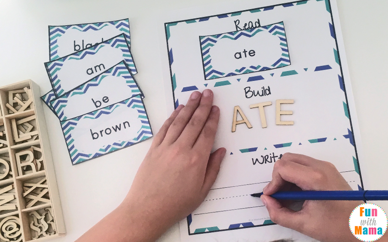 Free Dolch Primer Sight Words Worksheets - Fun with Mama