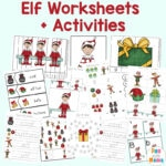 Elf Activities + Worksheets