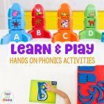 Learning Through Play Phonics Activities