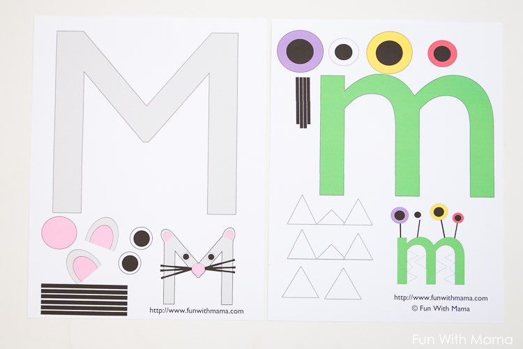 letter m crafts for pre k