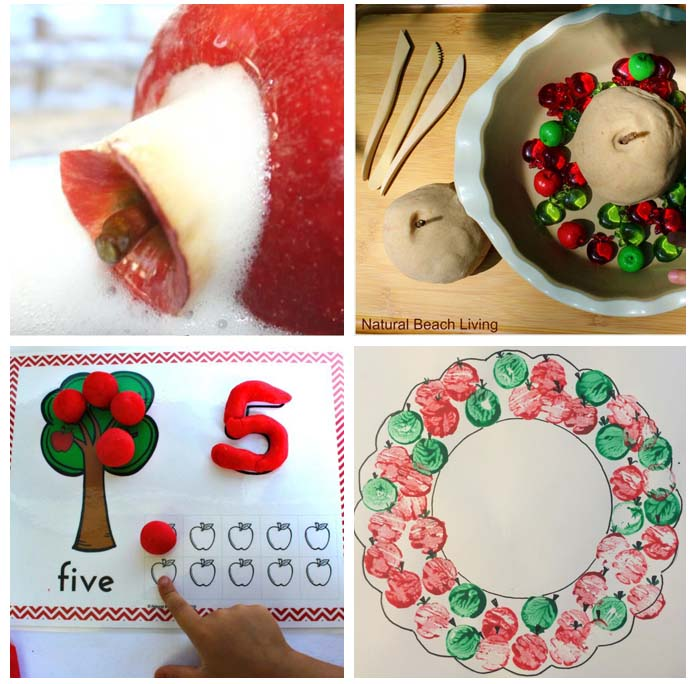 15+ Super Fun Apple Crafts and Activities