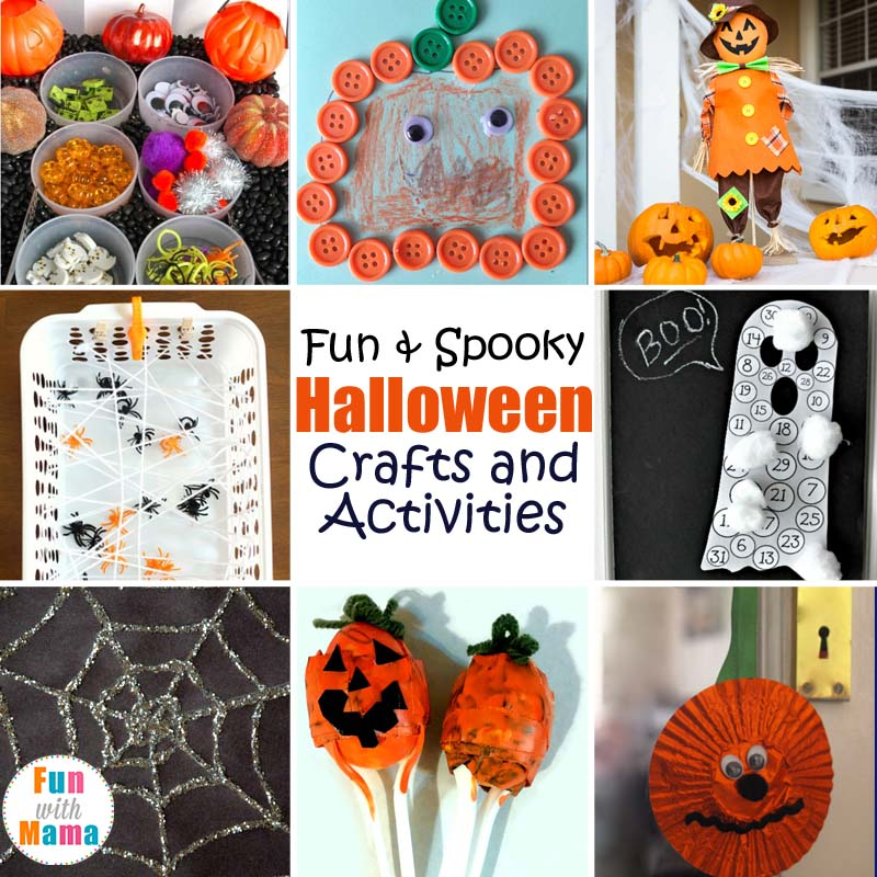 25+ Fun and Spooky Halloween Crafts and Activities