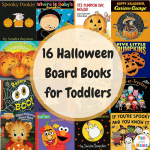 16 Best Halloween Board Books for Toddlers + Preschoolers!