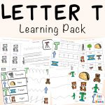 Letter T Worksheets for Preschool and Kindergarten