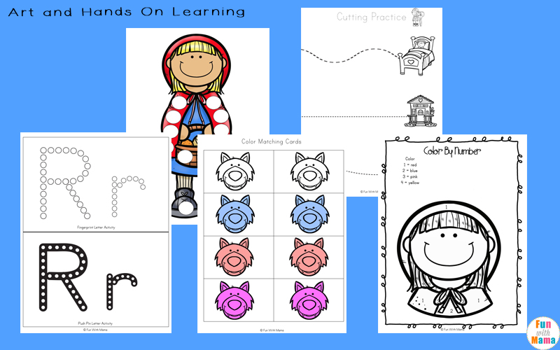 Little Red Riding Hood Activities for nursery