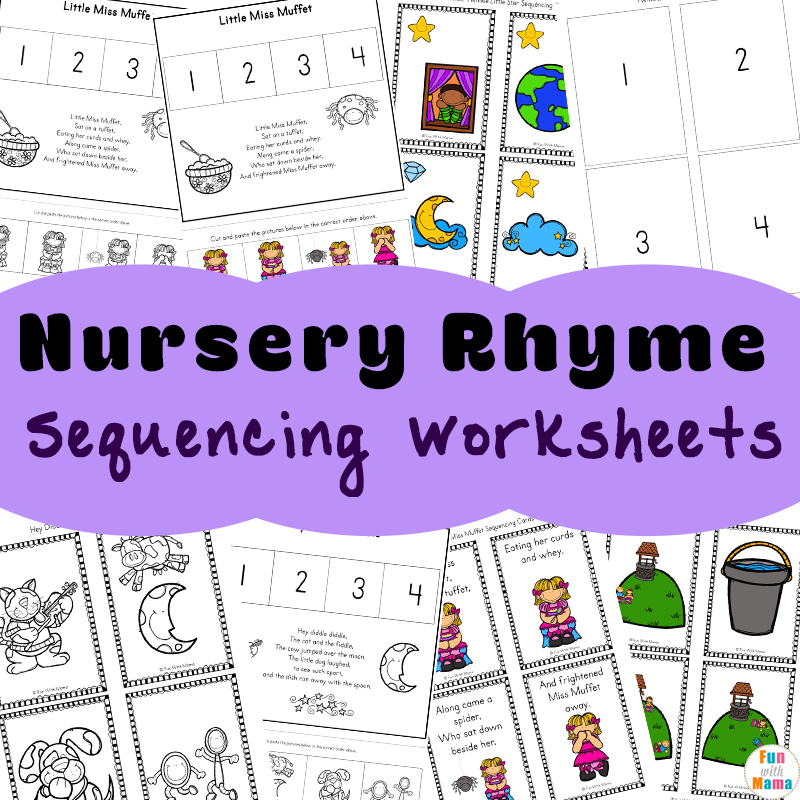 free nursery rhymes sequencing activities