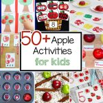 50+ Fun Apple Crafts and Activities For Preschoolers